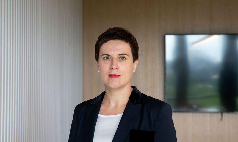 """Daiva Ušinskaitė-Filonovienė, advokatų profesinės bendrijos """"Wint law firm"""" vadovaujančioji partnerė. Juditos Grigelytės (VŽ) nuotr."""