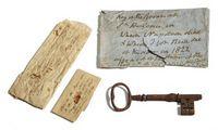 Parduotas raktas nuo kambario, kuriame mirė Napoleonas