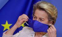EK pirmininkė pritaria visoje ES galiosiantiems skiepų pažymėjimams