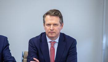 """D. Daubaras: akcijų opcionai skatina """"Ignitis grupės"""" vadovus siekti geresnių rezultatų"""