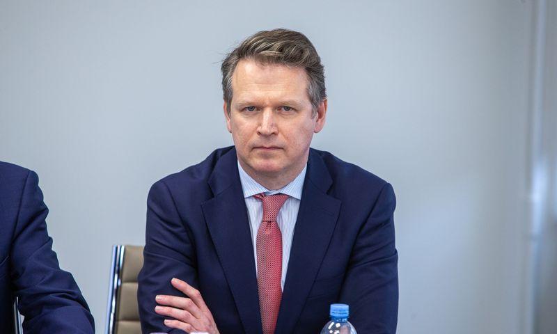 """Darius Daubaras, UAB """"Ignitis grupė"""" stebėtojų tarybos pirmininkas. Vladimiro Ivanovo (VŽ) nuotr."""
