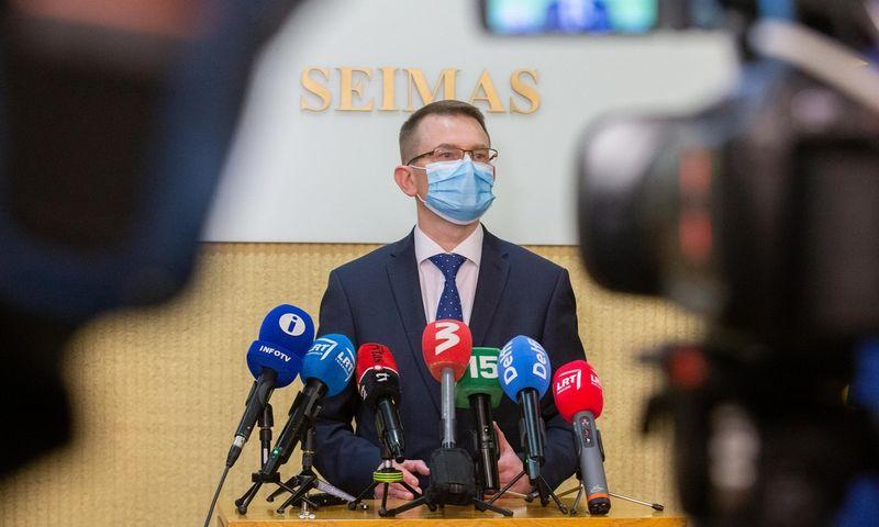 Arūnas Dulkys, sveikatos apsaugos ministras. Juditos Grigelytės (VŽ) nuotr.