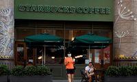 """Kinijos prezidentas paragino """"Starbucks"""" skatinti prekybą tarp JAV ir Kinijos"""
