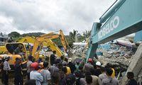 Indonezijos salą supurtė žemės drebėjimas – yra žuvusiųjų