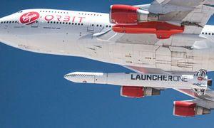 """Ypatingas startas: į kosmosą kyla ir R. Bransono """"Virgin Orbit"""""""