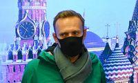 A. Navalnas sulaikytas oro uoste, jo buvimo vieta nežinoma