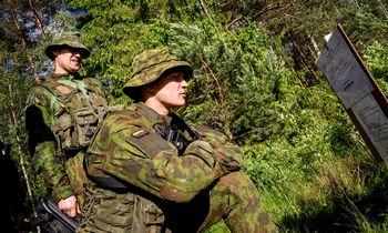 Prezidentas G. Nausėda pasveikino Krašto apsaugos savanorių pajėgas su 30-mečiu