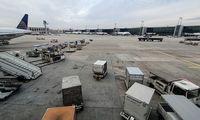 Ištuštėjusio Frankfurto oro uosto atsigavimassiejamas su vakcinavimu