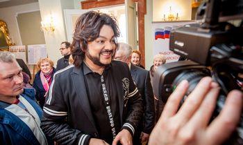 Rusų scenos žvaigždė F. Kirkorovas gali būti nebeįleistas į Lietuvą