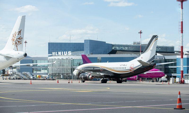 Lietuvos oro uostai tikisi šiemet sulaukti perpus mažiau, nei 2019 m., keleivių. Juditos Grigelytės (VŽ) nuotr.