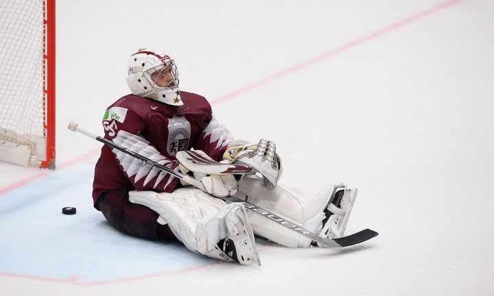 Latvija netrokšta ledo ritulio čempionatu dalintis su Lietuva