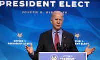 J. Bidenas nedelsiant pasirašys įsakus dėl JAV grįžimo į Paryžiaus klimato susitarimą, PSO