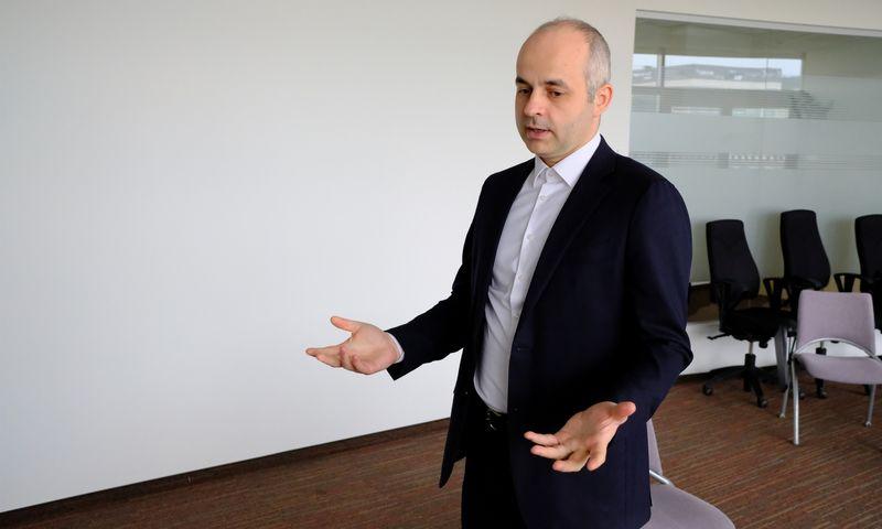 """Kostas Noreika, """"Paysera"""" įkūrėjas ir vienas pagrindinių akcininkų. Vladimiro Ivanovo (VŽ) nuotr."""
