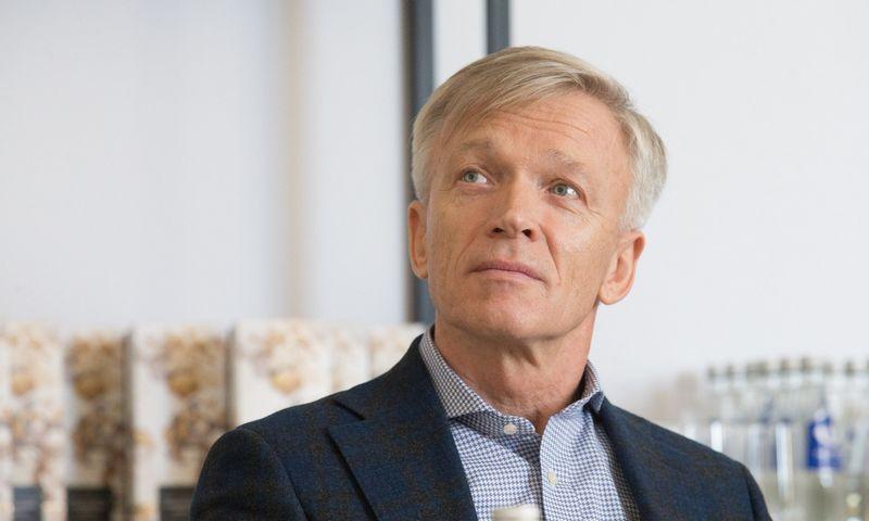 """Arvydas Avulis, AB """"Hanner"""" valdybos pirmininkas. Juditos Grigelytės (VŽ) nuotr."""