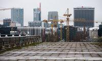 Statybos Estijoje pernai brango 0,4%