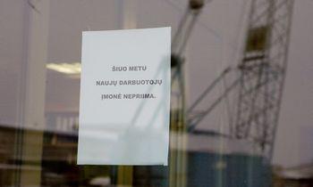 """""""Sodra"""": nedarbas augo ne vien dėl darbuotojų atleidimų"""