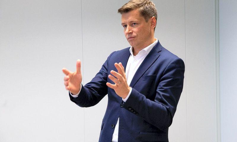 """Ruslanas Sklepovičius, """"Green Genius"""" vadovas: """"Šiandien žaliai veikti norinčiam verslui nebereikia sukti galvos dėl energetikos patirties ar didelių investicijų."""" Vladimiro Ivanovo nuotr."""
