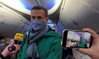 Žiniasklaida: Kremlius planuoja įkalinti A. Navalną daugiau nei 13 metų, sulaikomi bendražygiai
