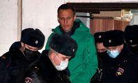 """EP pasmerkė A. Navalno areštą ir siūlo sustabdyti dujotiekio """"Nord Stream 2"""" statybas"""