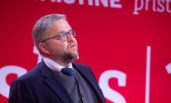 V. Vasiliauskas – apie ekonominį atšokimą, bankrotus, S. Krėpštą