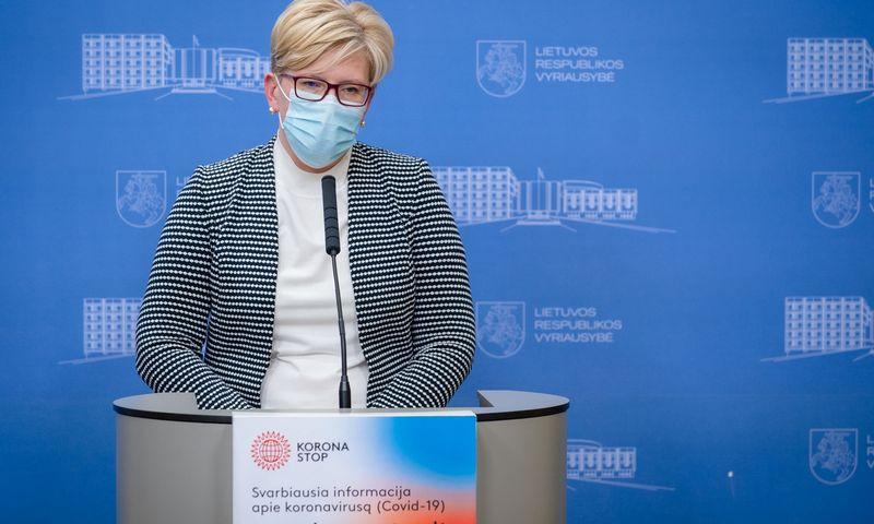Ingrida Šimonytė, ministrė pirmininkė. Dariaus Janučio (LRVK) nuotr.