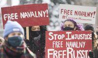 Rusijoje per šeštadienio protestus sulaikyti 3.300 protestuotojų