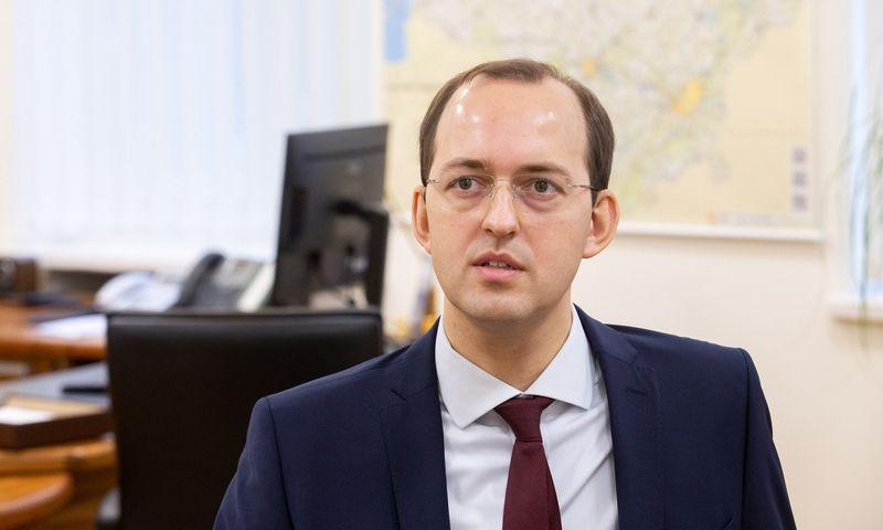 Marius Skuodis, susisiekimo ministras. Juditos Grigelytės (VŽ) nuotr.