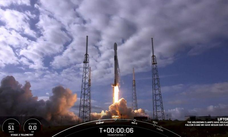 """SpaceX"" (""Scanpix"" / AFP) nuotr."