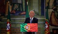 Portugalija perrinko dabartinį prezidentą, rodo negalutiniai rezultatai