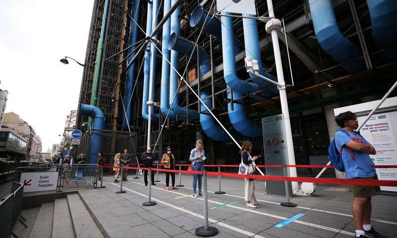 """""""Centre Pompidou"""" renovacija kainuos mažiausiai 100 mln. Eur. SIPA / """"Scanpix"""" nuotr."""