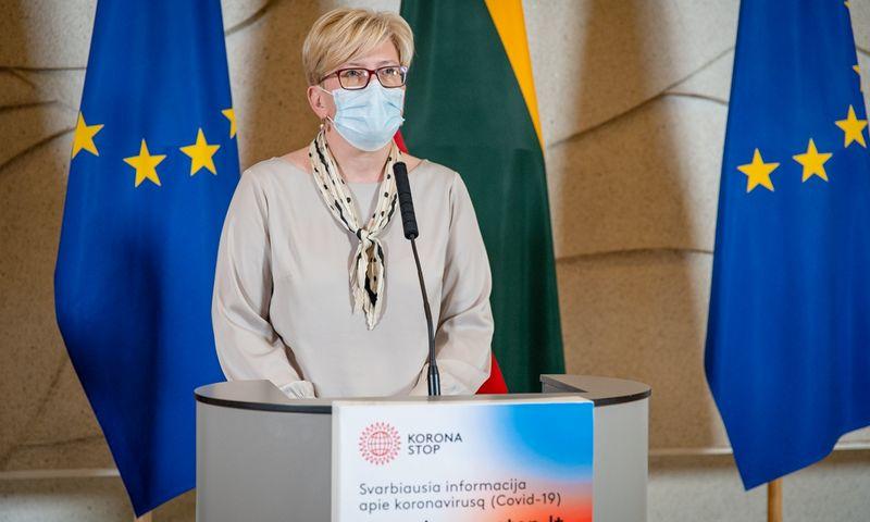 Vyriausybės posėdis. Dariaus Janučio (LRVK) nuotr.