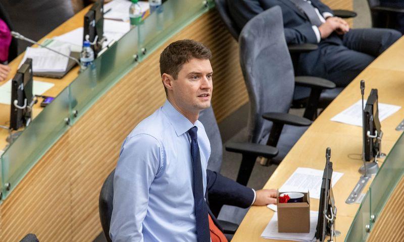 Mykolas Majauskas, Seimo Biudžeto ir finansų komiteto pirmininkas. Juditos Grigelytės (VŽ) nuotr.