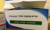 Kai kuriosešalyse COVID-19 testas angliškai netinka