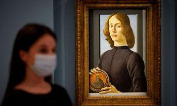 S. Botticelli paveikslas parduotas už 92 mln. USD