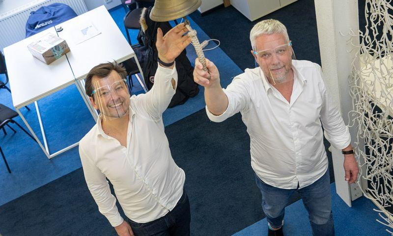 """Gediminas Vilčiauskas (kairėje), """"NO-CV"""" įkūrėjas ir Peras Molleris, """"70 Ventures"""" vadovaujantis partneris. Bendrovės nuotr."""