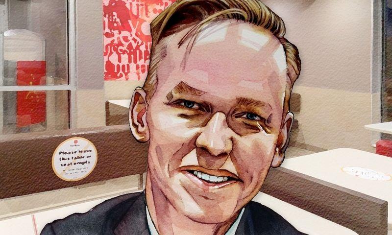 "Chris Kempczinski, ""McDonald's Corporation"" CEO. FT piešinys."