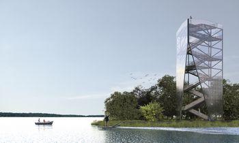 Nemuno deltos regioniniame parke iškils apžvalgos bokštas – unikalus ir paskutinis