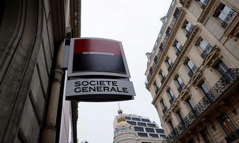 """""""Societe Generale"""" pranoko lūkesčius, mokės dividendus, nori supirkinėti akcijų"""
