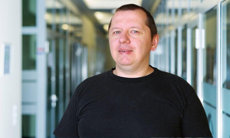 """""""Blue Bridge"""" duomenų bazių administratorius Juozas Kaunas."""