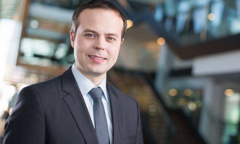 """Marius Ignotas, """"Swedbank"""" Finansų rinkų tarnybos vadovas: """"Stebint besiformuojančią praktiką, akivaizdu, kad tvarumo vaidmuo kapitalo rinkoms tik stiprės"""". BENDROVĖS NUOTR."""