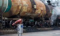 Baltarusijos ir Rusijos naftos krovinių sutartis atidėta