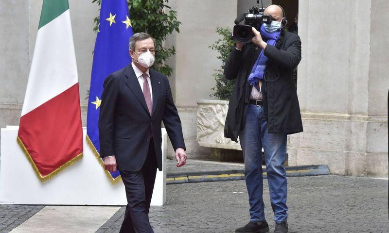 """Mario Draghi, Italijos premjeras. (""""SIPA"""" /""""Scanpix"""") nuotr."""