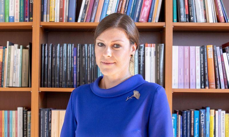 """Indrė Genytė-Pikčienė, """"INVL Asset Management"""" vyriausioji ekonomistė. Juditos Grigelytės (VŽ) nuotr."""