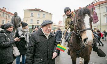 Prof. V. Landsbergis paskelbtas Vilniaus miesto garbės piliečiu