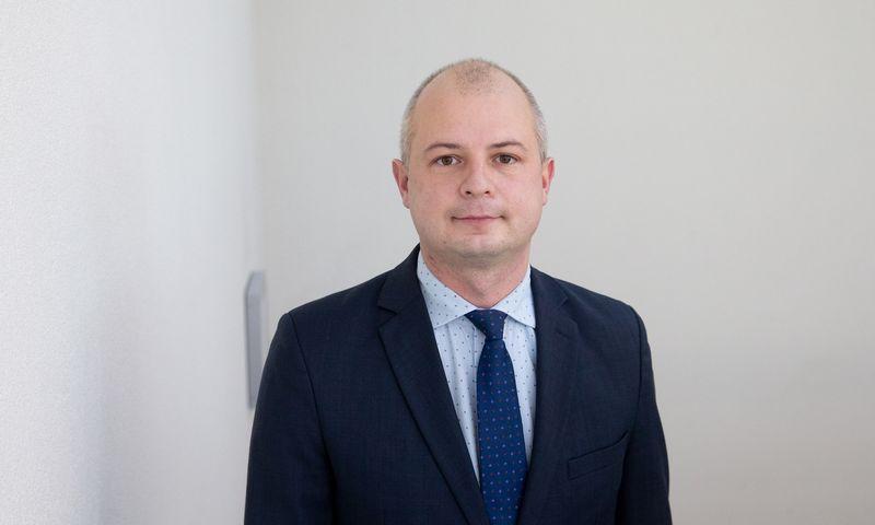 Simonas Gentvilas, aplinkos ministras. Juditos Grigelytės (VŽ) nuotr.
