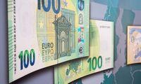 ECB grynasis pelnas 2020 m. sumažėjo 30% iki 1,6 mlrd. Eur