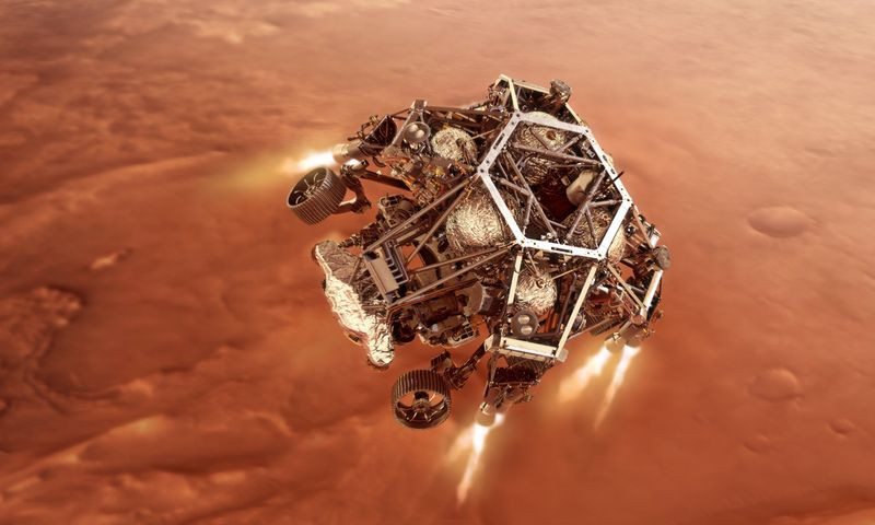 """NASA/ZUMA Press/""""Scanpix"""" nuotr."""