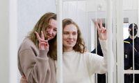 ES ir JAV ragina Minską išlaisvinti nuteistas žurnalistes