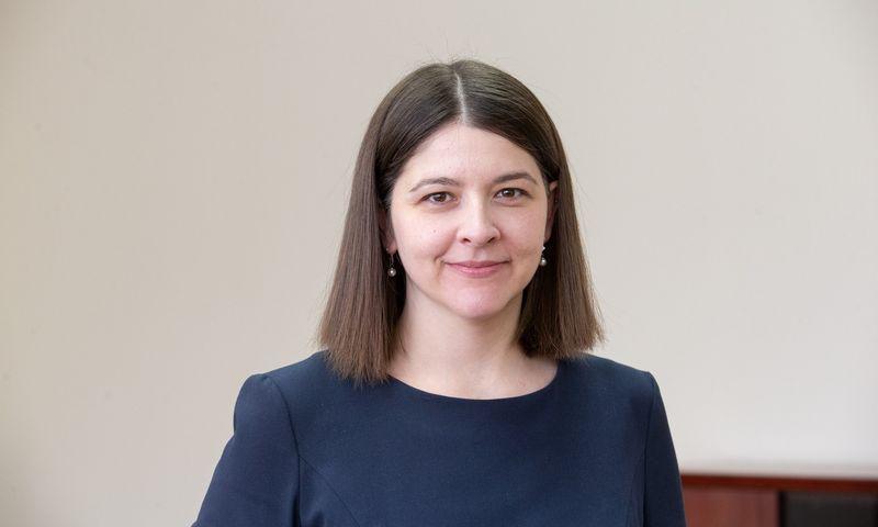 Gintarė Skaistė, finansų ministrė. Juditos Grigelytės (VŽ) nuotr.