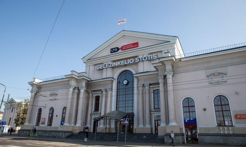 Vilniaus geležinkelio stotis. Vladimiro Ivanovo (VŽ) nuotr.